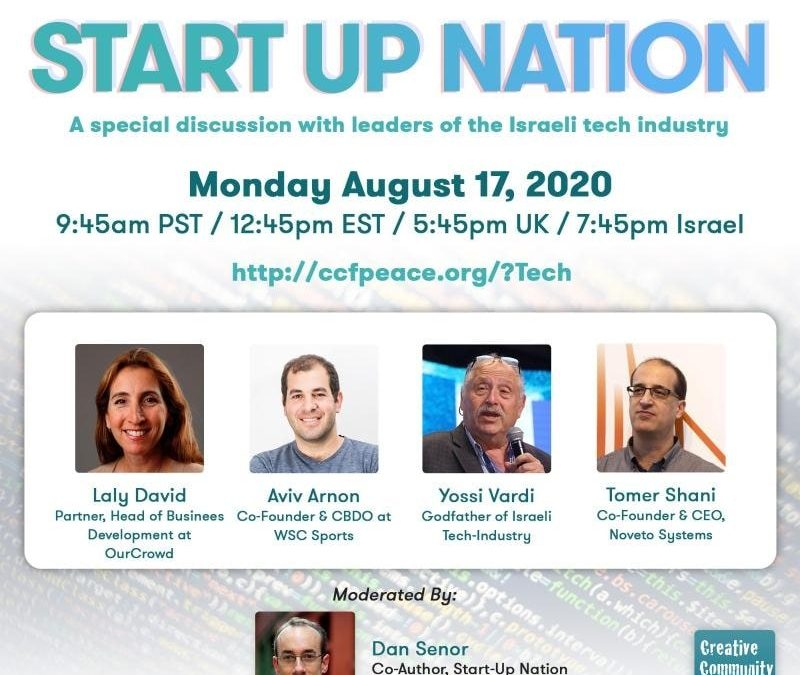 Start Up Nation: A special discussion with leaders of the Israeli tech industry